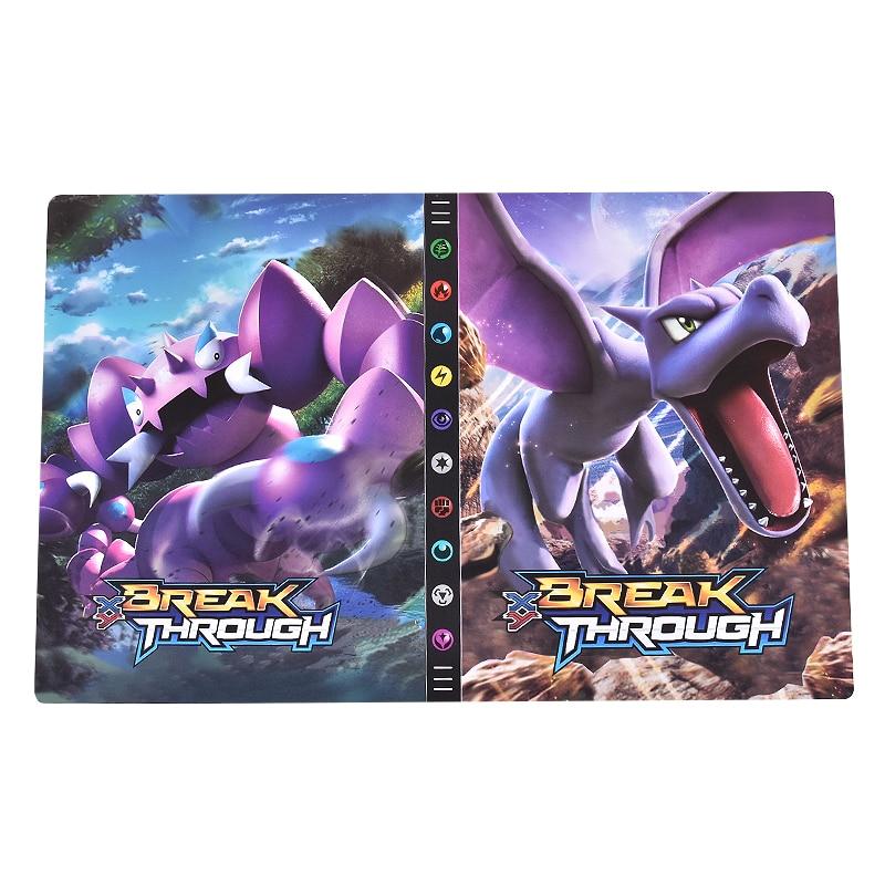 New 9 Pocket 432 Card Pokemon Cards Album Book Binder Game XY Card Holder Cartoon Anime Pokémon Col