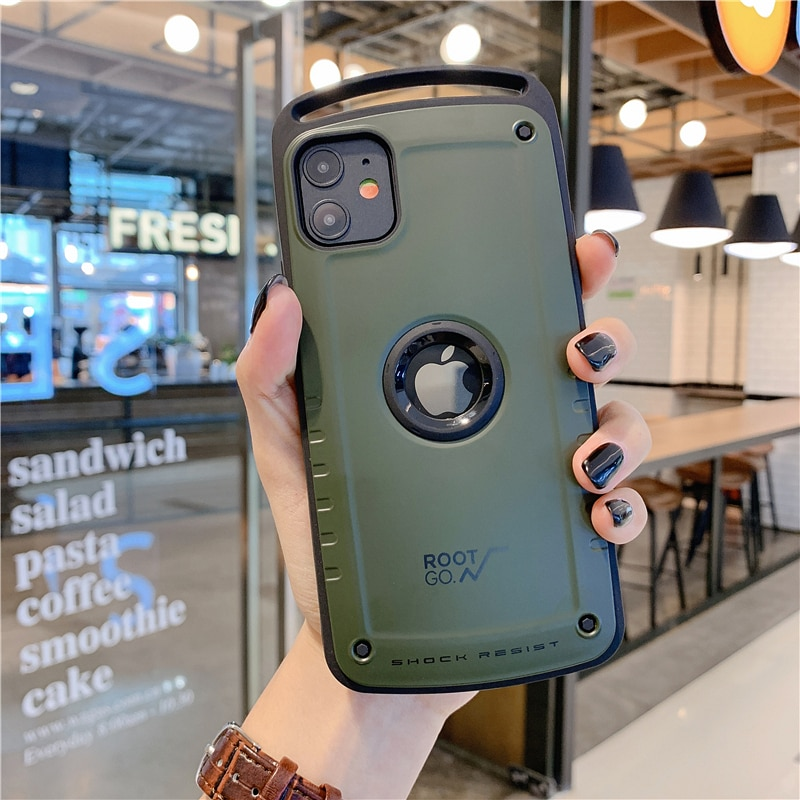 luxury Hybrid Shockproof Case For iPhone 12 Pro Max Heavy Duty Armor Case For iPhone 11 X XS Max XR