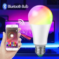 15W 20W RGB LED Lamp E27 B22 Bluetooth Music LED Smart Bulb 10W RGBW Colorful Night Lamp with Remote for Home Bedroom Decoration
