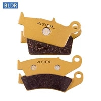 125cc motorcycle front and rear brake pads set for yamaha yz125 yz 125 1998 1999 2000 2001 2002 ceramic sintered copper based
