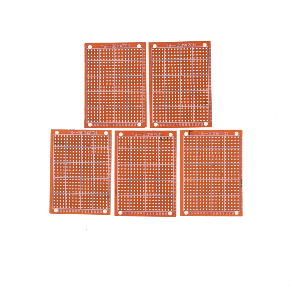 PCB Protoboard Circuit Board PCB Prototype PCB Board Single Side Kupfer PCB Platte 10 stücke 5X 7CM 1,2mm