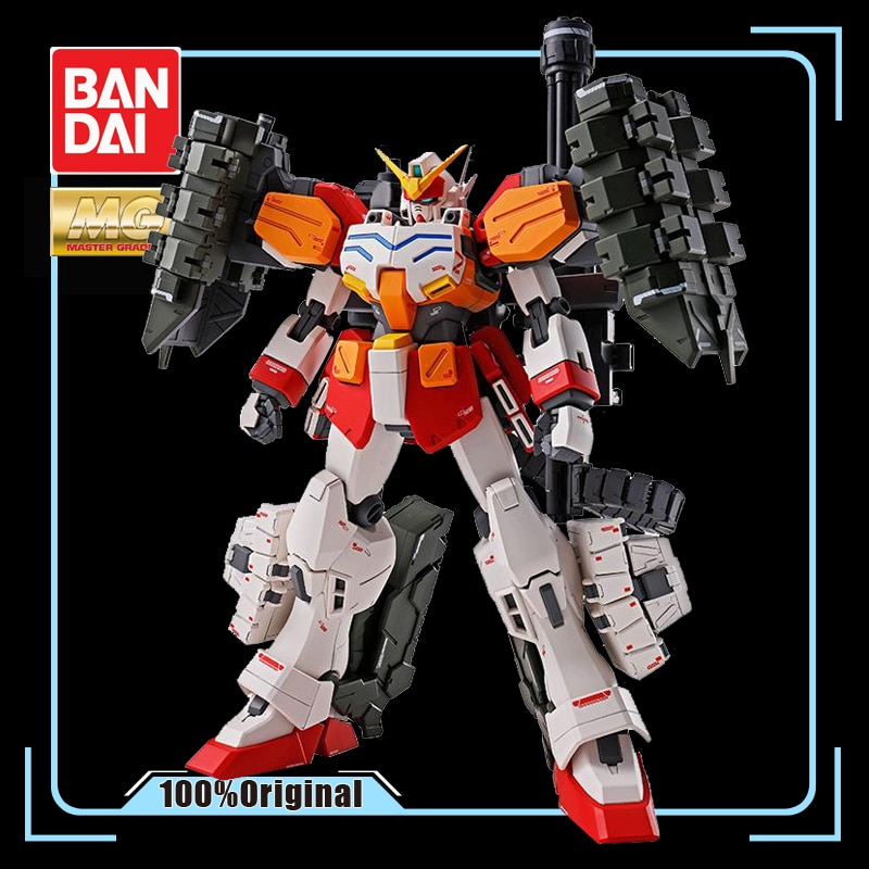 BANDAI MG 1/100 PB Limited Edition Gundam Heavyarms Custom XXXG-01H2 Arms Cusutom Effects Action Figure Model Modification
