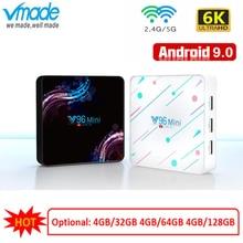 Android 9.0 TV Box Allwinner H6 Support YouTube netflix account WIFI 2.4G&5G 6K set top box 4G 128G Google Smart tv Media Player