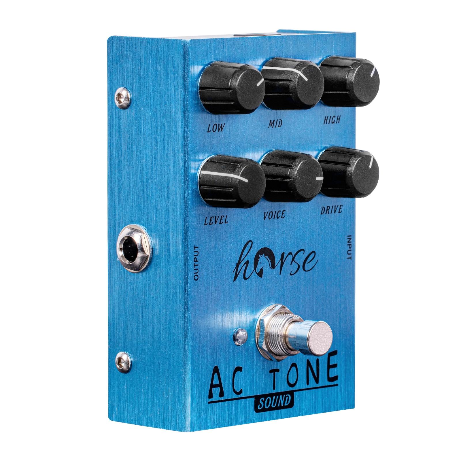 حصان كاليفورنيا صوت كهربائي جيتار مؤثرات دواسة Mesa VOX التيار المتناوب لهجة خمر مُضخّم صوت