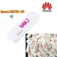lot of 10pcs unlocked huawei e8372 e8372h 153 4g lte 150mbps wifi modem 4g usb modem dongle 4g carfi modem