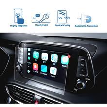 LFOTPP Für Santa Fe 7 zoll 8 zoll 2019 Auto Multimedia Radio Bildschirm Protector Auto Innen Dekoration Schutz Aufkleber