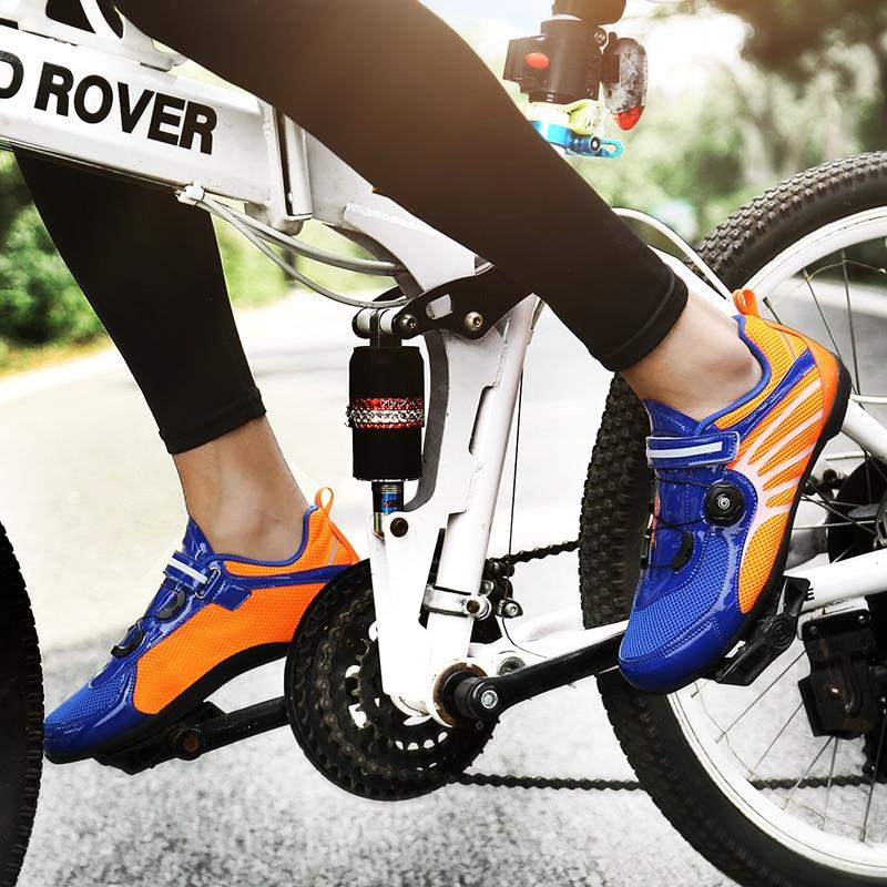 Unisex Bicycle Shoes Krasovki Men Road Bike Sneakers High Quality Women Cycling Shoes Non-slip Couple Road Bike Shoes 36-44