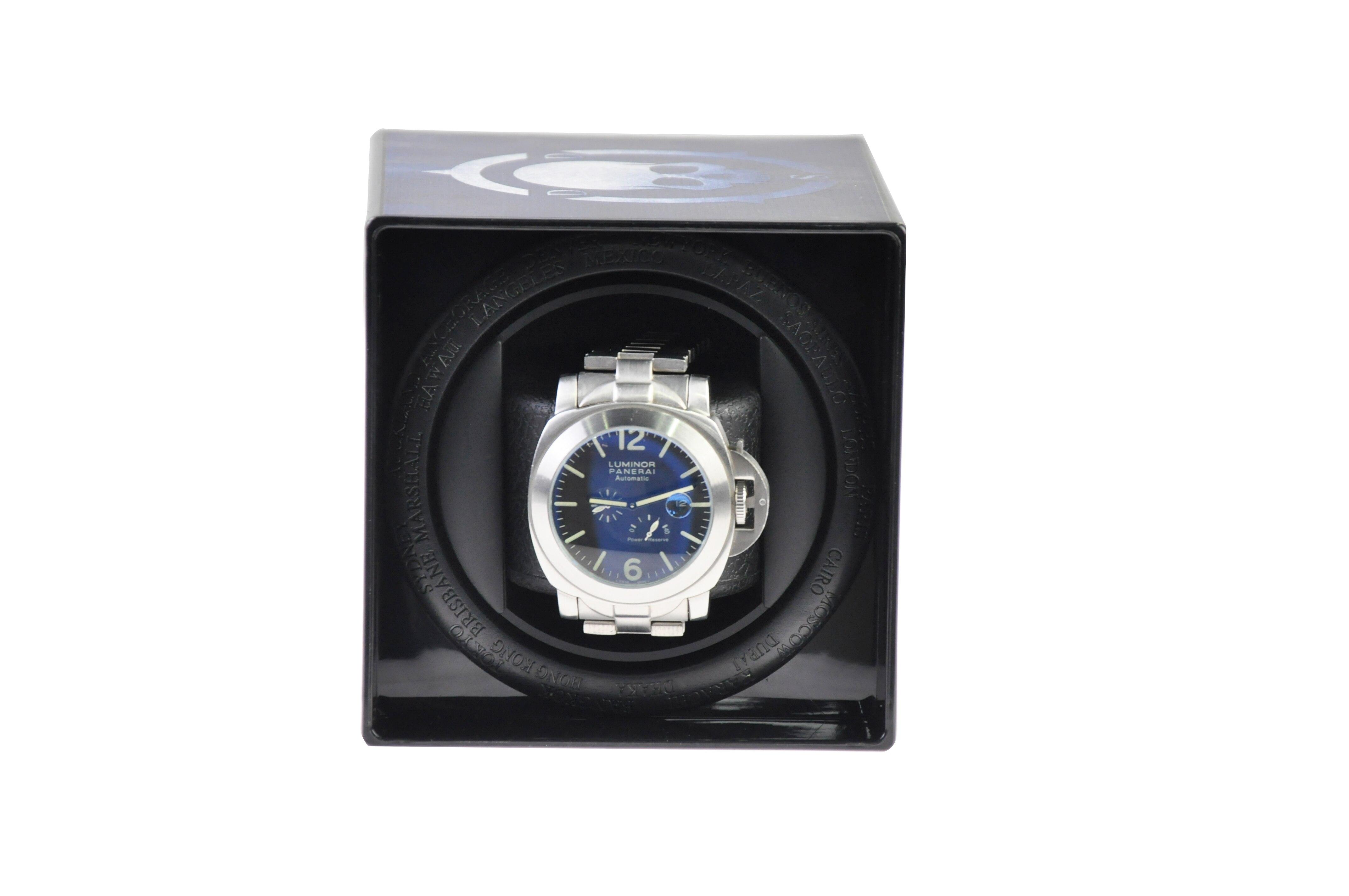 National flag USB Power Supply Mechanical Watch Winding Box Case Motor Shaker Mini Watch Winder Holder Display Jewelry Storage enlarge