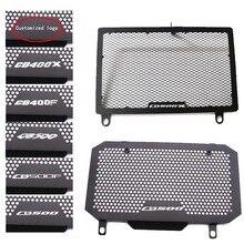 Couverture de radiateur dhuile de Grille de garde de radiateur de moto pour HONDA CB500X 2013-2019 CB500F 2013-2015 CB400F/X 2013-2015