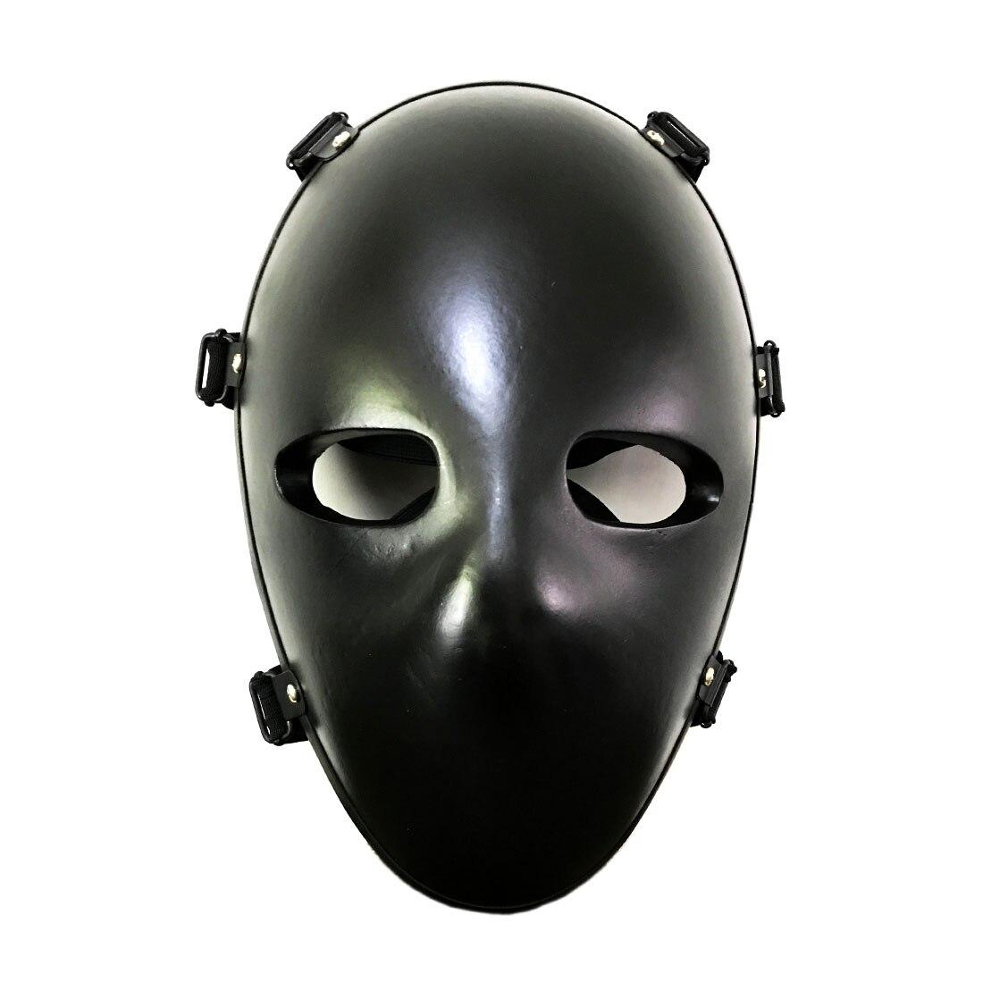 IIIA Level Tactical Face Cover Full Protective Mask - Black