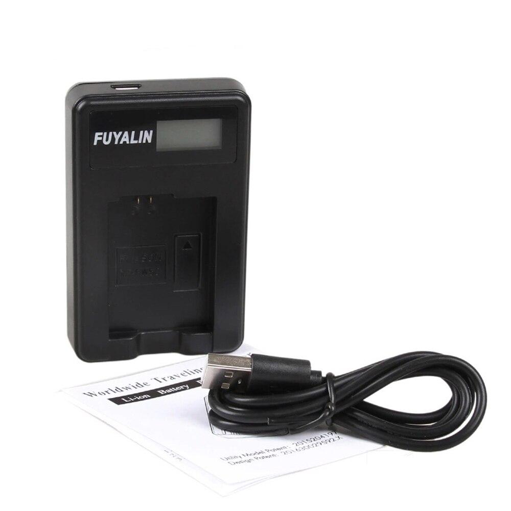 LCD USB cargador de batería EN-EL19 ENEL19 para Nikon Coolpix S32 S33 S100 S5200 S3300 S3400 S6400 S7000 S6900 S6800 S4100 s4400