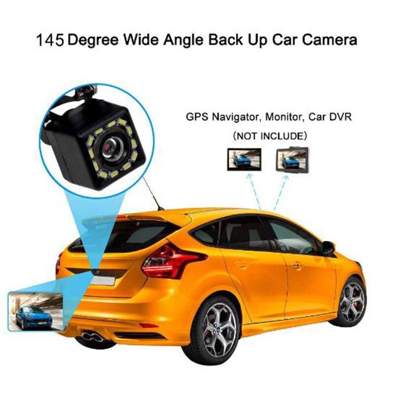 New  DC12V12 lights rearview reversing camera universal with lights rearview reversing image waterproof night vision camera health central reversing costochondritis