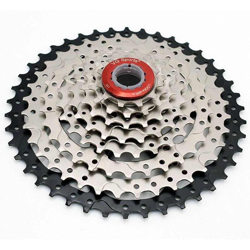 VG Esportes 8 11-42T MTB Cassete Velocidade Roda Livre Bicicleta Roda Dentada Cdg 42 8 S Mountain Bike Roda Livre T Ultraleve 441g