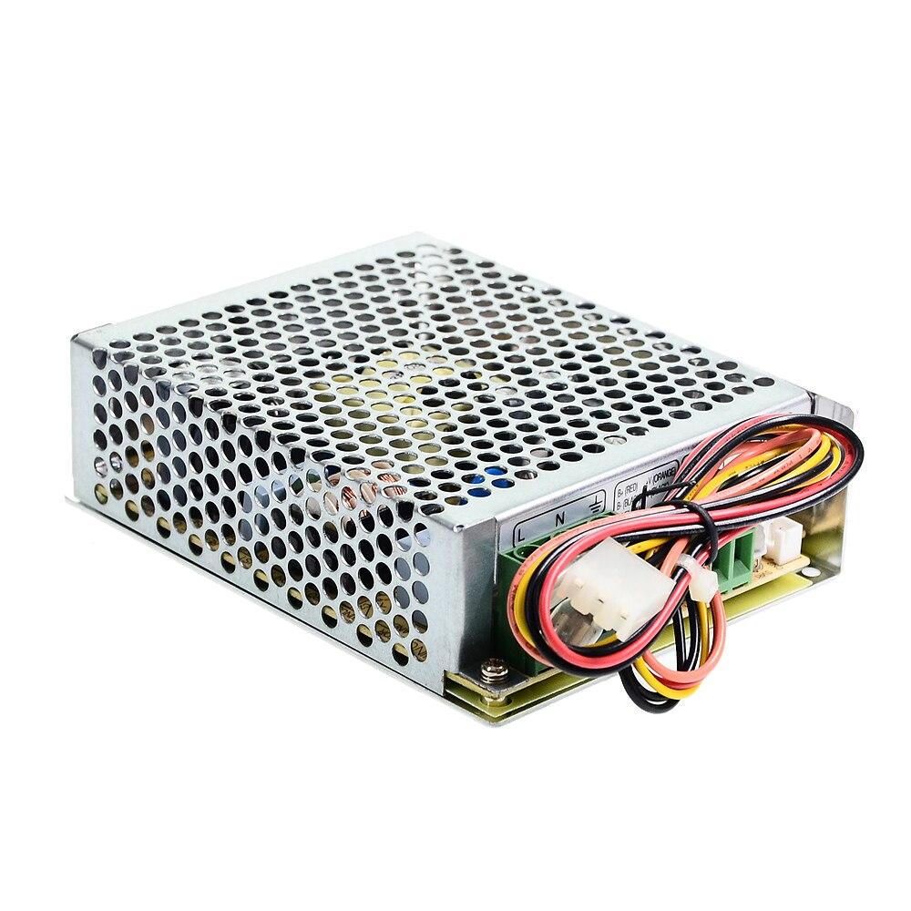 Original Mean Well SCP Series meanwell 13.8V 27.6V 35/50/75W ، تحويل مصدر الطاقة بمخرج واحد ، مع تعويض درجة الحرارة