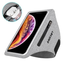 Zipper Running Sport Armbands For Airpods Pro Belt Hand Pouch For iPhone 13 12 11 Pro Max XS XR 8 Plus Arm Band For Samsung S21