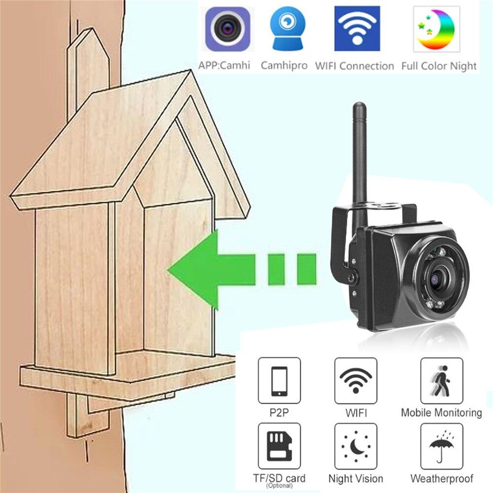 mini camera ir deteccao de movimento visao noturna wi fi ao ar livre cctv onvif p2p
