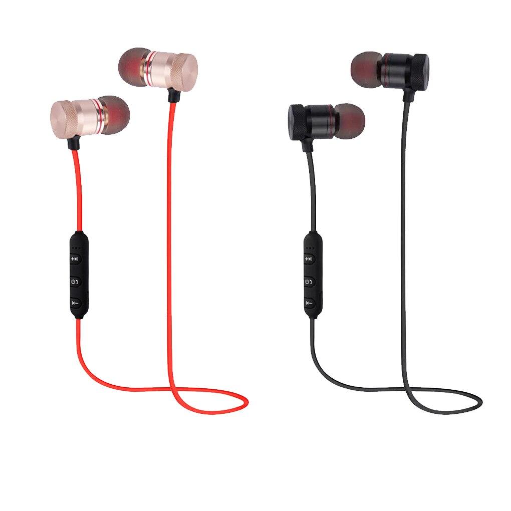 Bluetooth 4,1 magnético inalámbrico Bluetooth auriculares estéreo deportes a prueba de agua auriculares inalámbricos en la oreja con micrófono
