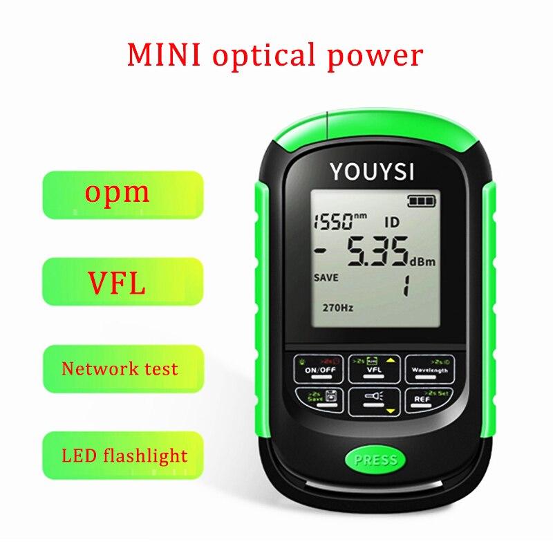جديد 4in1 البصرية السلطة متر البصرية خطأ محدد شبكة كابل اختبار OPM اختبار الألياف الضوئية 5 كجم 15 كجم 30 كجم 30MW بوخوم LED