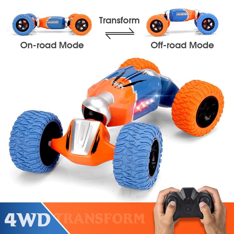 LBLA B1 1:16 2.4G 4WD Remote Control Stunt RC Cars Radio Twist Deformation Off-road Vehicle Climbing