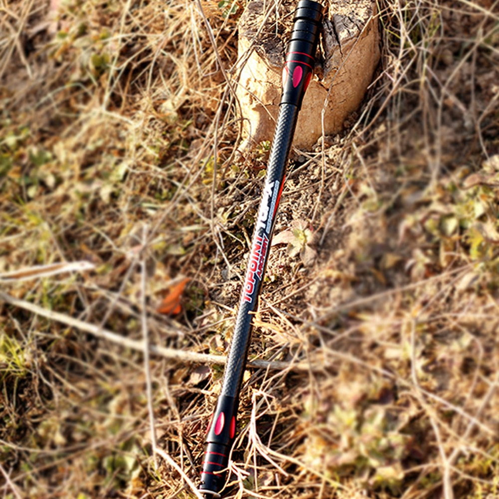 Arco y flecha estabilizador punto nuevo PR634-12 pulgadas barra de equilibrio lateral bipolar oxidación arco y flecha tiro con arco amortiguador