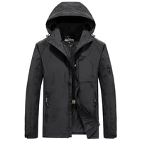 mens waterproof military jacket spring autumn casual windbreaker jackets mens breathable hooded outdoor thin coats clothes