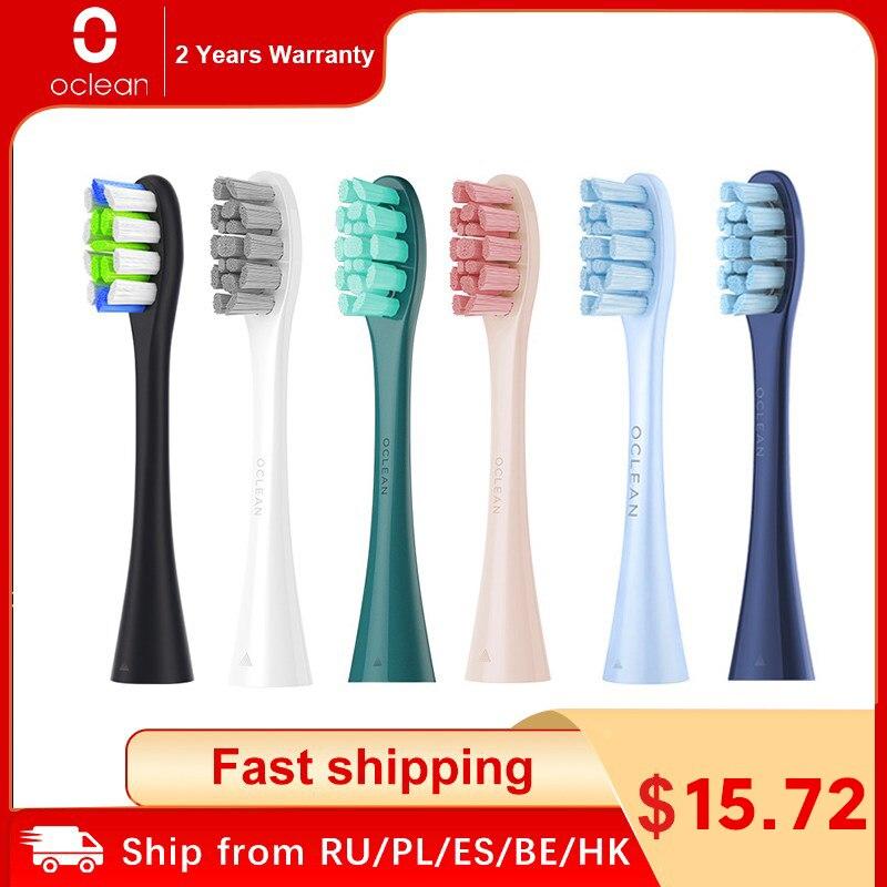 أوكلين X برو النخبة/X برو/F1/الهواء 2/واحد 4 قطعة رؤوس فرشاة الاستبدال ل فرشاة الأسنان الكهربائية التنظيف العميق فرشاة أسنان رؤساء
