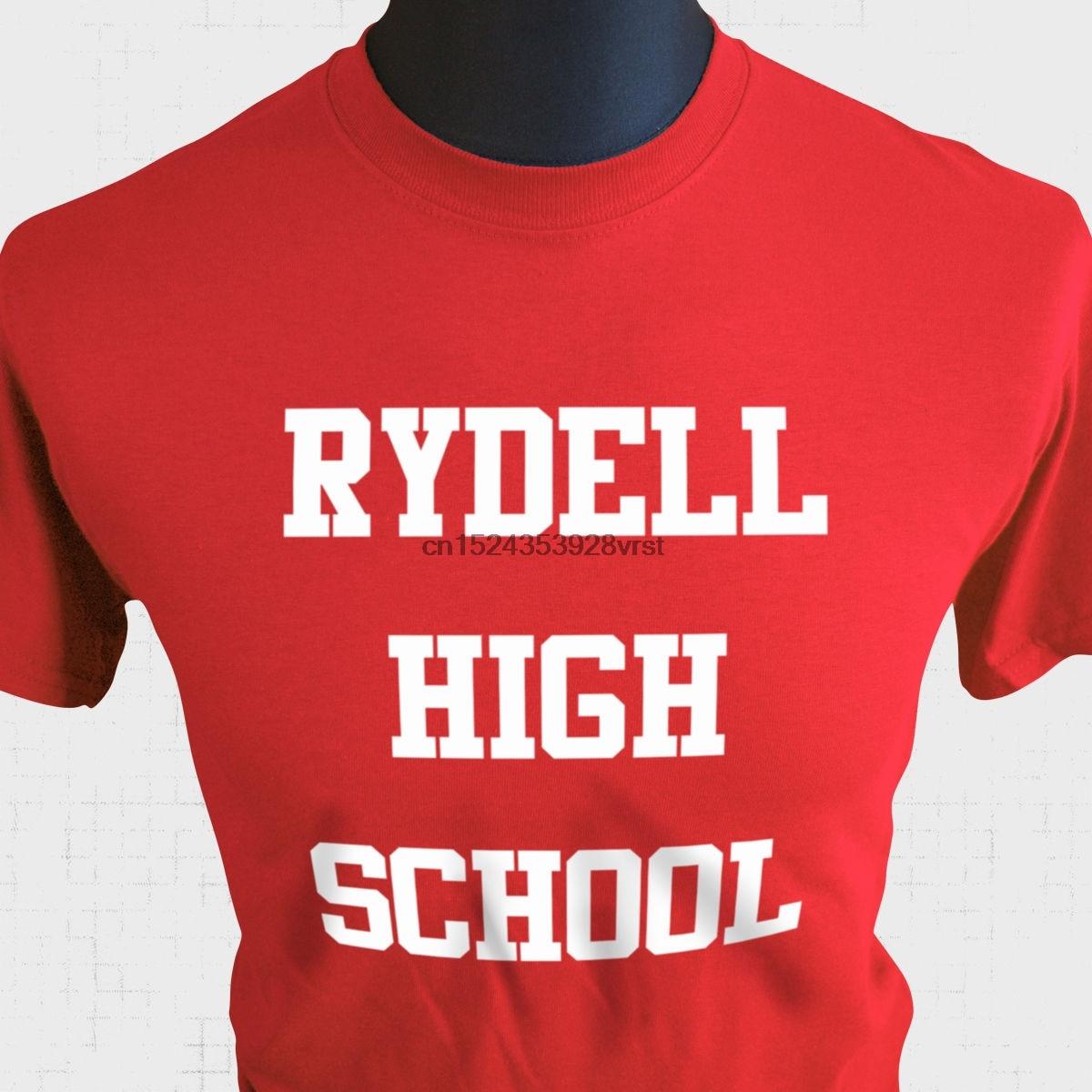 Rydell Hohe Schule T Hemd Fett Musical Phantasie Kleid John Travolta Kühlen 70 Neue T Shirts Lustige Tops T Neue unisex Lustige Tops