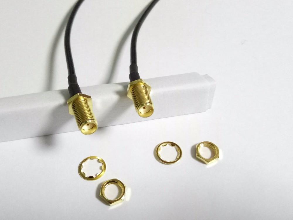 20 قطعة SMA الإناث ضفيرة محول موصل كابل RG174 20 سنتيمتر بيع