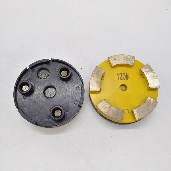 قرص مكشطة ماسي للتجليخ المعدني ، 3 ثقوب ، إزالة الطلاء بالكرمل الناعم ، مطحنة klindex