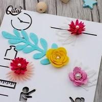 metal cutting dies stencil qitai 2pcs 3d rose flower roll for diy scrapbooking photo album paper card making decorative md355