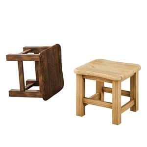 Stool home modern small bench fashion creative  low stool wood home wood stool