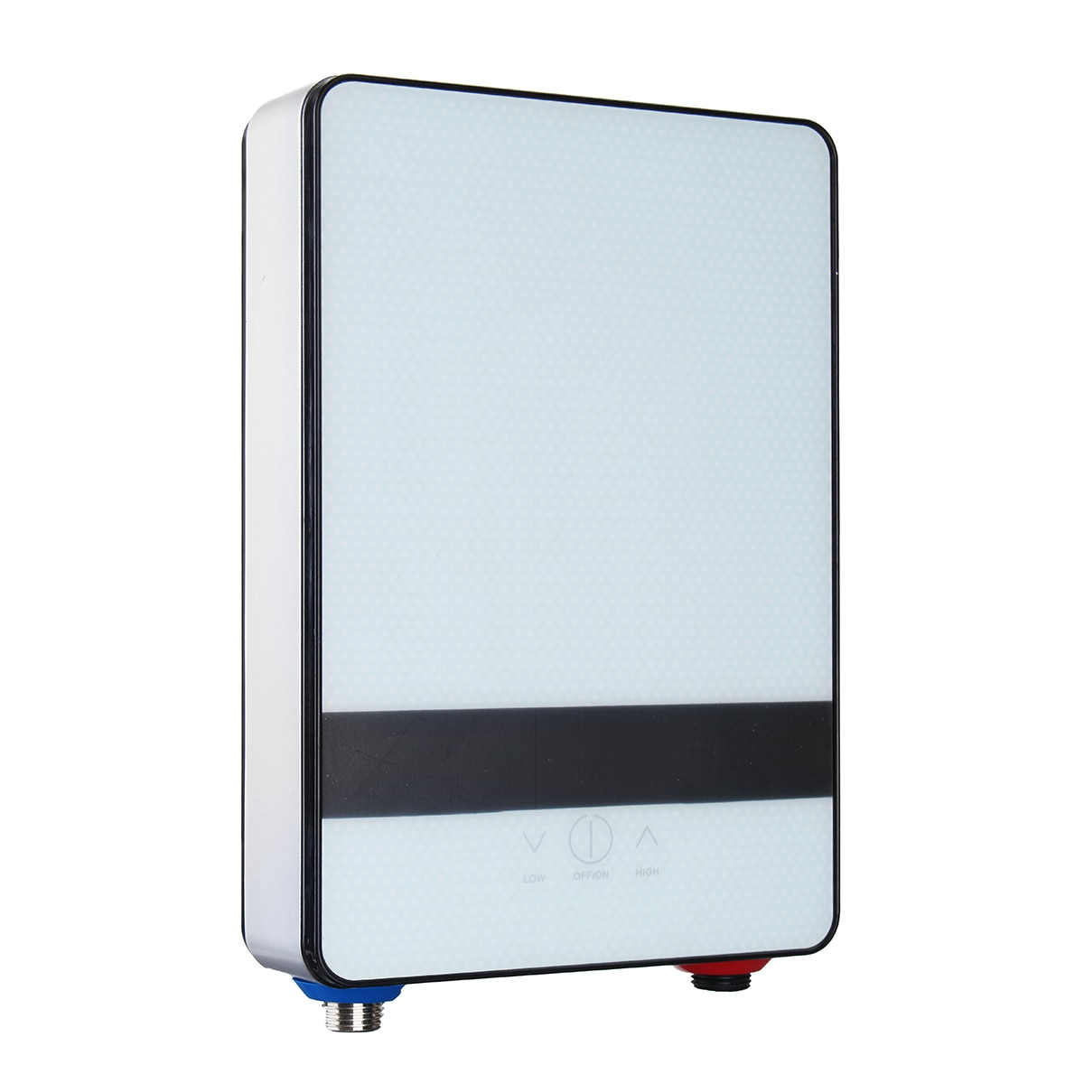 220V Tankless Electric Hot Water Instant Shower Heater Kitchen Bathroom Set Safe Intelligent Electric Water Heating Shower 6500W