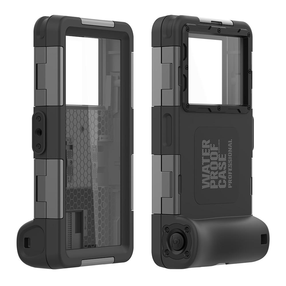 Professional Diving Case for Xiaomi Mi 11 10 9 Lite 8 5X 6X Redmi Note 10 9s 8 7 6 Pro 5 4X 10X Camera 15M Waterproof Full Cover