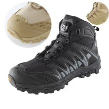 Tactical Boots Men Army Fan Outdoor Combat Training Military Boot Non-slip Wearproof Climbing Hiking Shoes Quick Wear Sport Shoe