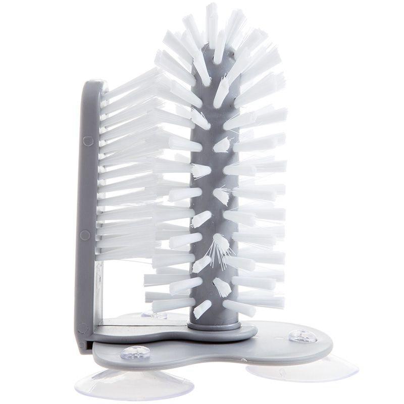 Caliente XD-fregadero Base de la taza de succión botella de limpieza cepillo de vidrio limpieza de la cocina taza de vino limpiador cepillo doble giratorio