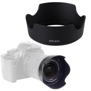 1 шт. черная бленда объектива ABS EW-63C EW63C для Canon EF-S 18-55 мм f/3,5-5,6 IS STM 58 мм кожух линзы камеры protetor ew 63c