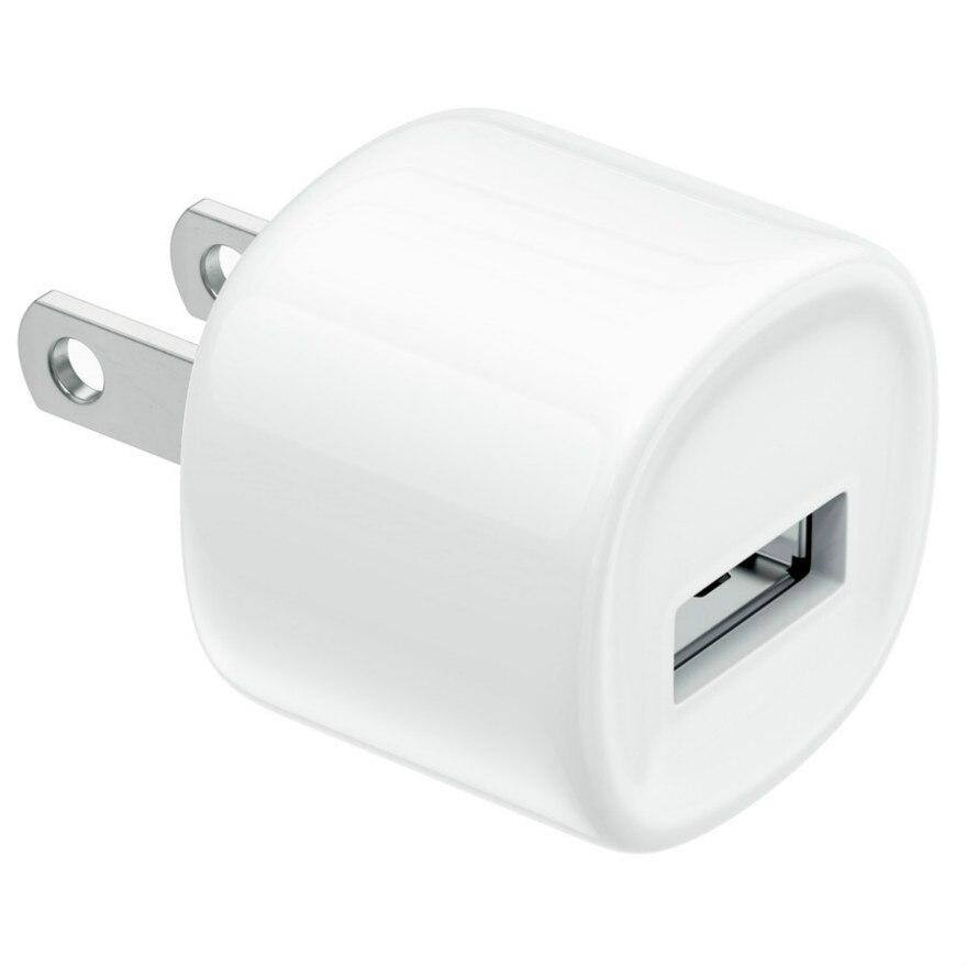 شاحن حائط 5 فولت 1 أمبير ، قابس أمريكي ، تيار متردد ، منفذ USB واحد ، للمنزل ، السفر ، شواحن iPhone X 11 8 7 6 Samsung HTC ، 1000 قطعة
