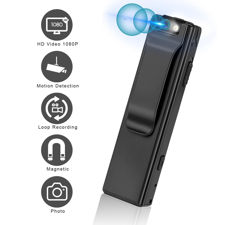 Vandlion A3 Mini Digital Camera HD Flashlight Micro Cam Magnetic Body Camera Motion Detection Snapsh