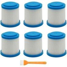 7 Packs VPF20 Ersatz Filter Smartech Pet Lithium-2-In-1 Cordless Stick Staubsauger Zubehör Filter