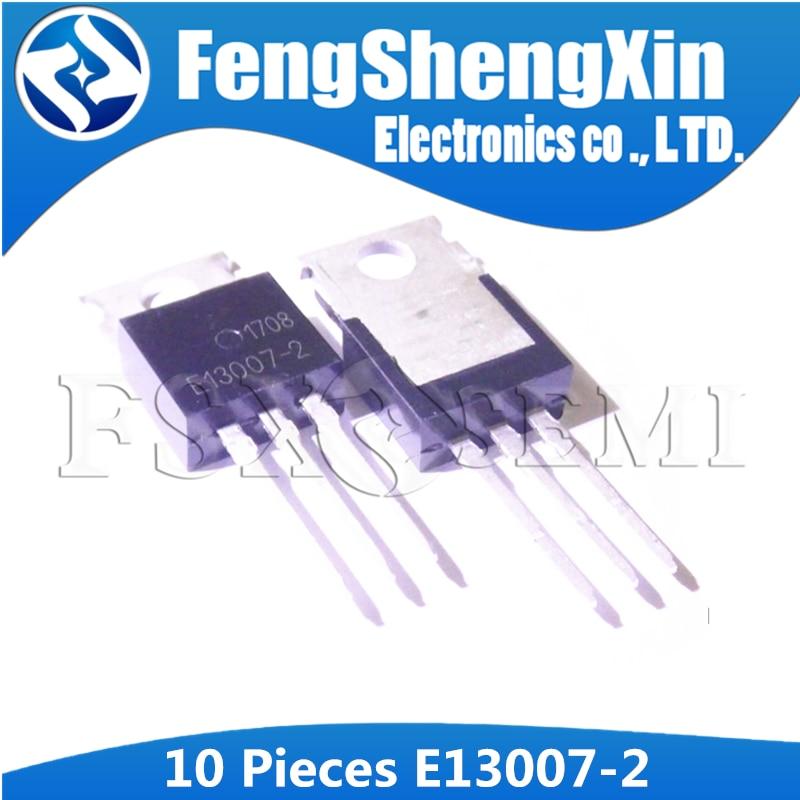 10 pçs/lote FJP13007 TO220 MJE13007 J13007 J13007-2 E13007-2 Transistor De Potência