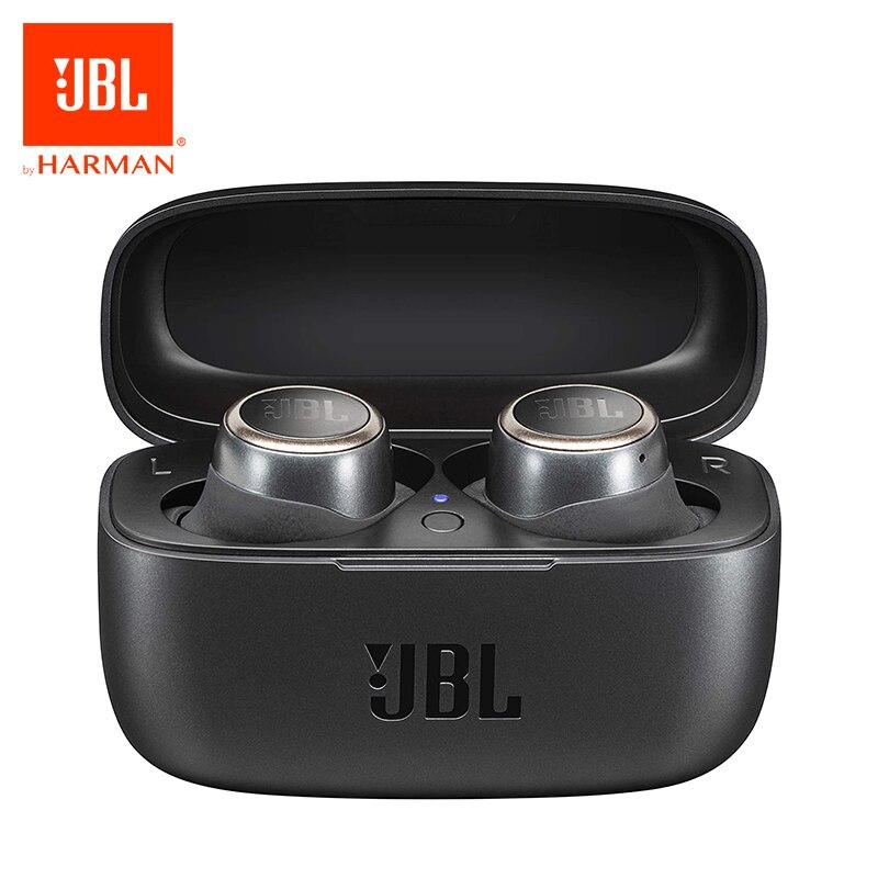 Original jbl viver 300bt 5.0 fones de ouvido sem fio com microfone estéreo e caixa de carregamento suporte alexa built-in google assistente