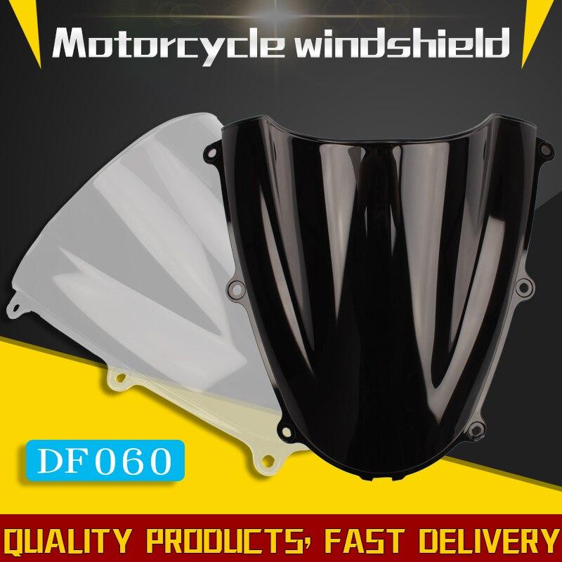 Para Honda CBR600RR F5 05-06 de la motocicleta parabrisas CBR 600 RR CBR600 RR CBR 600RR 2005 2006 05 06 negro blanco claro