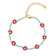 GO2BOHO Miyuki Tila Beads Bracelet Women Pulseras Flower Bracelets Armbanden Boho Jewelry Summer Colorful Trendy Handmade jewls