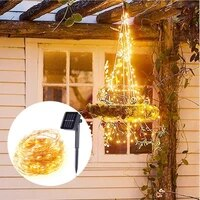 led solar string light 100200leds garland holiday christmas party outdoor waterproof fairy lighting lamps gifts
