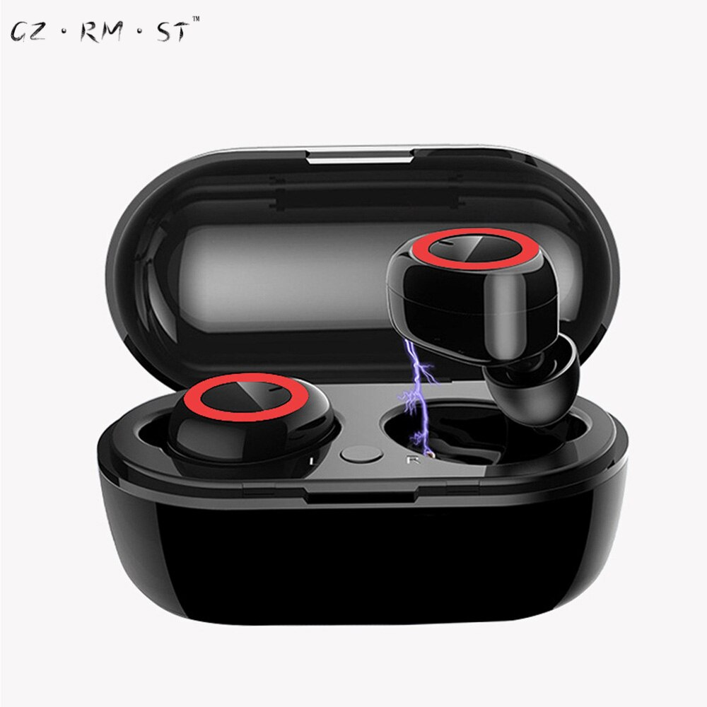 TWS2 binaural stereo 5.0 wireless bluetooth headset tws2 sports mini touch headset