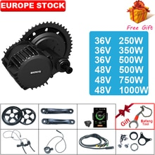 BAFANG BBS02 BBSHD 48V 500W/750W/1000W 36V250W/350W/500w Mid Drive Motor Ebike Kit 8fun Bicycle Engine Electric Bike Kit