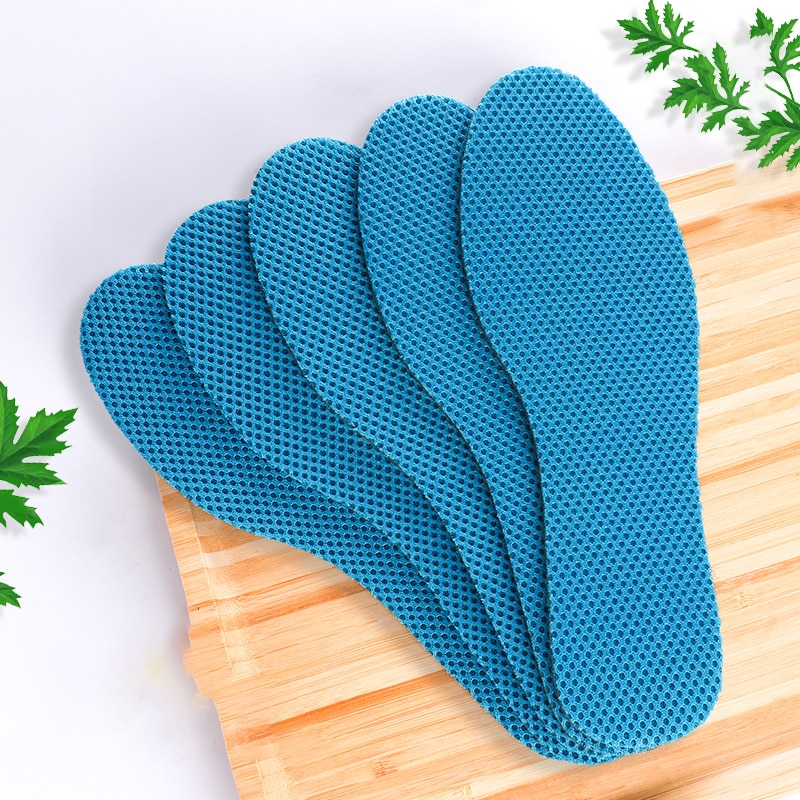 5 pairs health deodorant insoles light weight shoes pad absorb sweat breathable mesh cloth shoe inserts men women 5 Pairs Health Deodorant Insoles Light Weight Shoes Pad Absorb-Sweat Breathable Mesh Cloth Shoe Inserts Men Women