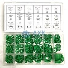 AXK jeu de joints de lave-glace   Caoutchouc de climatisation verte, Kit de plomberie assortiment métrique 270 pièces