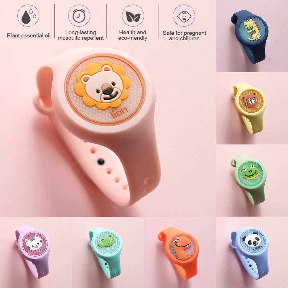 Lightweight Mosquito Repellent Watch for Kids Wearable Mosquito Repeller Bracelet Dropship CSV
