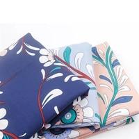 50cmx140cm retro handmade diy fabric imagine flowers printed 100 cotton garment fabric crisp 17 5